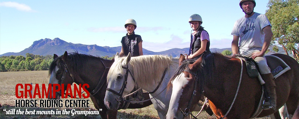 Grampians Horse Riding - Tourism Victoria Experience Holiday